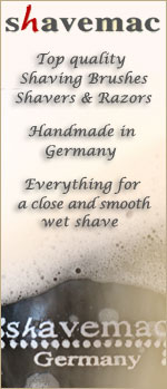 Shavemac shaving products Made in Germany - All you need for a smooth wet shave!