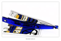 Manhattan Cutlery Co. - Sheffield - 6/8 - Near Wedge - Sapphire Blue